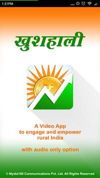 Khushhali for Rural India poster