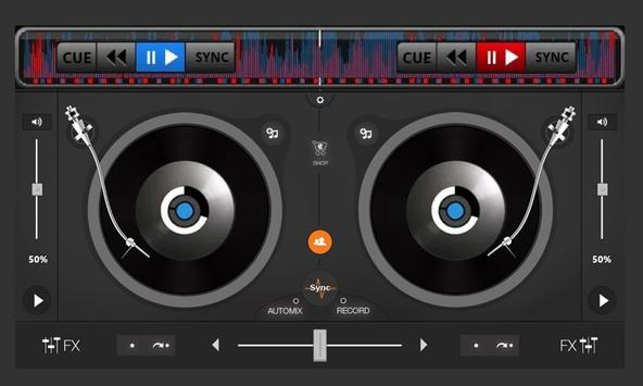 DJ Mp3 Player Mixer apk screenshot