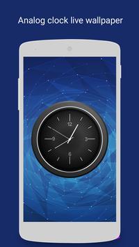 Analog Clock – Live Wallpaper poster