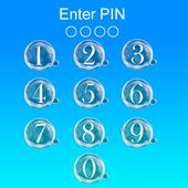 Lock screen - PIN and Pattern screen Lock icon