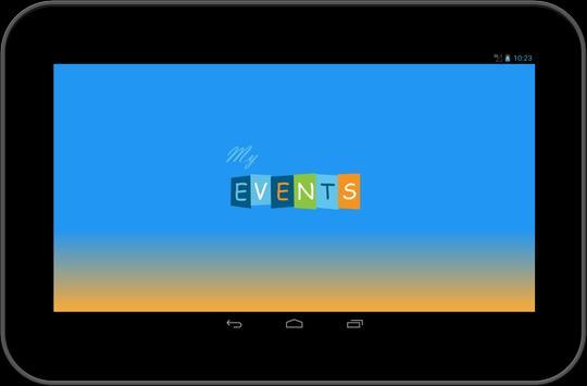 My events apk screenshot