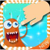 Evil Monster Orange icon