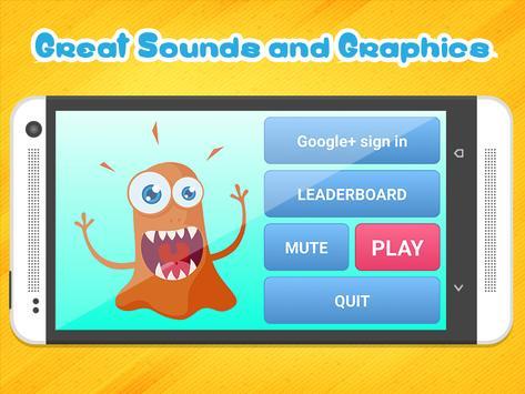 Evil Monster Orange apk screenshot