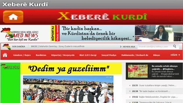 Xeberê Kurdî /All Kurdish News apk screenshot