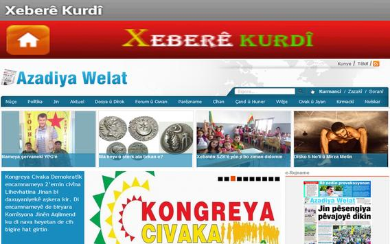 Xeberê Kurdî /All Kurdish News screenshot 16