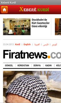 Xeberê Kurdî /All Kurdish News screenshot 1