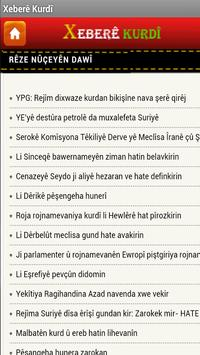 Xeberê Kurdî /All Kurdish News screenshot 8