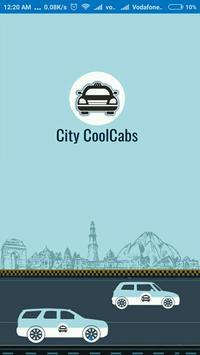 City Coolcab Cab Booking App poster