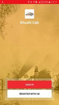 KhushiCab poster