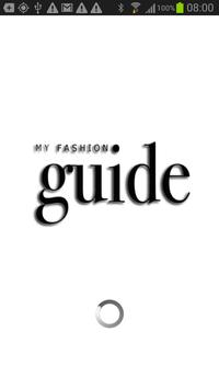 My Fashion Guide poster