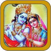 Krishna Radha Wallpaper New 图标