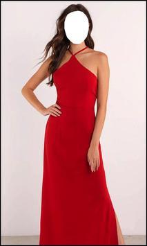 Women Design Maxi Dress poster