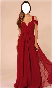 Women Design Maxi Dress screenshot 3