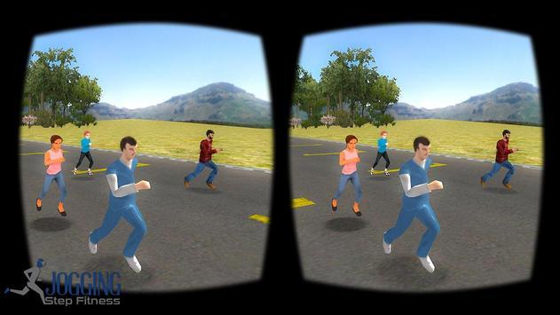 VR Jogging Step Fitness apk screenshot