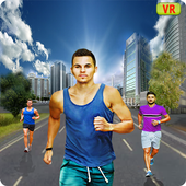 VR Fitness Marathon Race icon