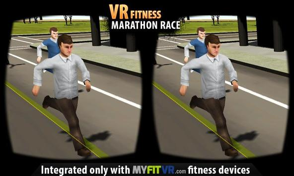 VR Fitness Marathon Race apk screenshot