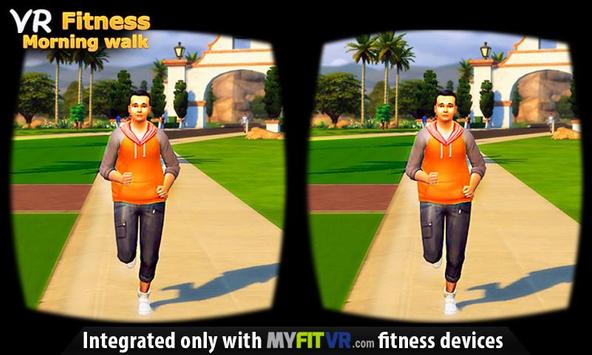 VR Fitness Morning Walk poster
