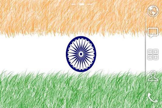 INDIAN FLAG LIVE WALLPAPER apk screenshot