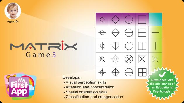 Matrix Game 3 - for age 6+ poster