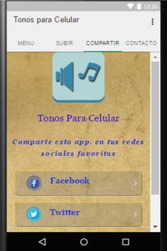 Tonos para Celular screenshot 3