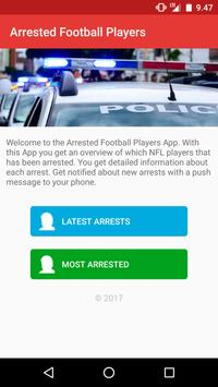 Arrested Football Players poster