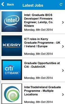 Graduate Jobs Ireland apk screenshot