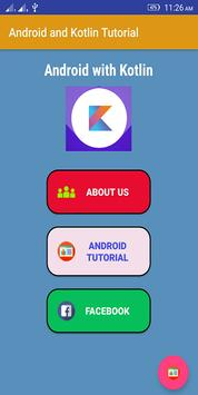Android with Kotlin poster