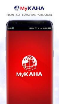 MyKAHA - Booking Tiket Pesawat & Hotel Murah poster