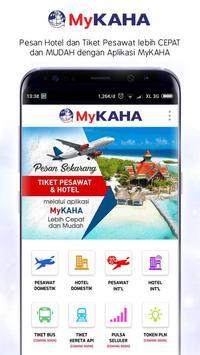 MyKAHA - Booking Tiket Pesawat & Hotel Murah screenshot 1