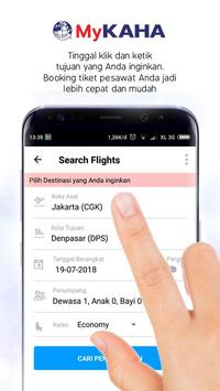 MyKAHA - Booking Tiket Pesawat & Hotel Murah screenshot 2