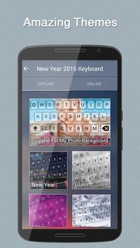New Year 2016 Keyboard Theme apk screenshot