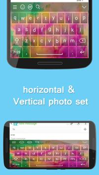Holi Keyboard Theme apk screenshot