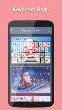 Santa Keyboard Theme screenshot 3