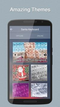 Santa Keyboard Theme screenshot 4