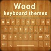 Wood Keyboard Theme icon