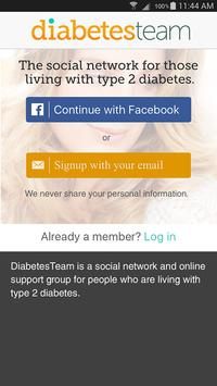 Type 2 Diabetes Support screenshot 1