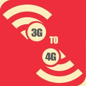 3G To 4G Converter Prank icon
