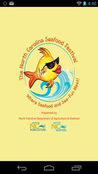 N. Carolina Seafood Festival poster