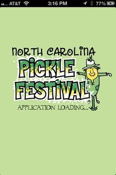Pickle Festival poster