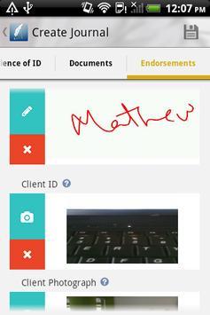 iNotary apk screenshot