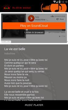 Indochine ~ La Vie Est Belle screenshot 2
