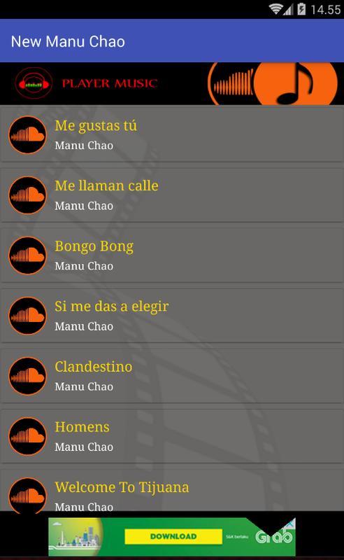 Manu chao logo vector (. Ai) free download.
