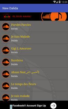 Dalida ~ Paroles paroles screenshot 1