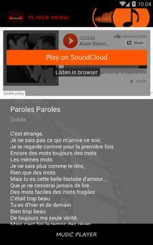 Dalida ~ Paroles paroles screenshot 2