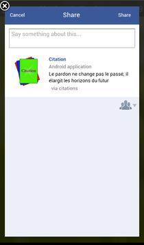 Citation apk screenshot