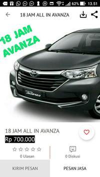 JAS Rental Mobil screenshot 2