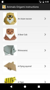 Animal Origami Free App Folding Apk Screenshot
