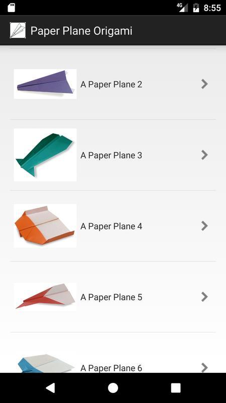 Paper Plane Origami Apk Screenshot