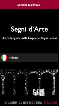 Segni d'Arte poster