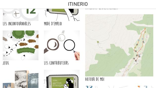 Itinerio poster